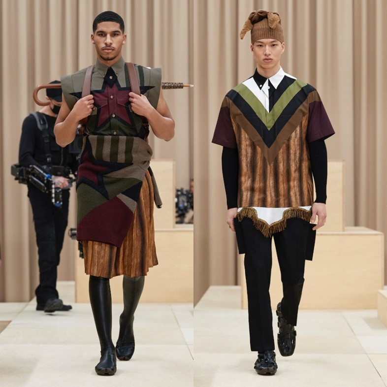 Burberry AW21 menswear collection LFW