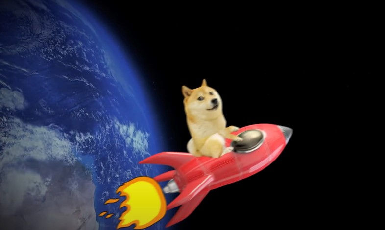 """""""Dogecoin Song – to the Moon"""" by YouTuber Herr Fuchs"""