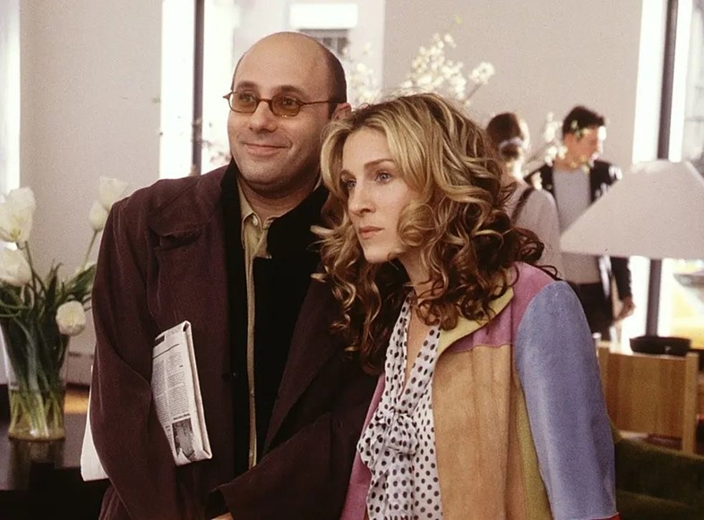 Sex and the City's Stanford Blatch and Carrie Bradshaw