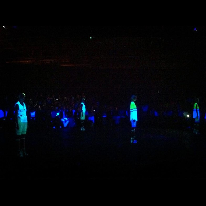 Alexander Wang Womenswear SS13 glow in the dark f