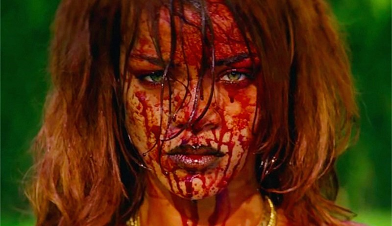 Rihanna releases unseen, NSFW footage from 'BBHMM' video