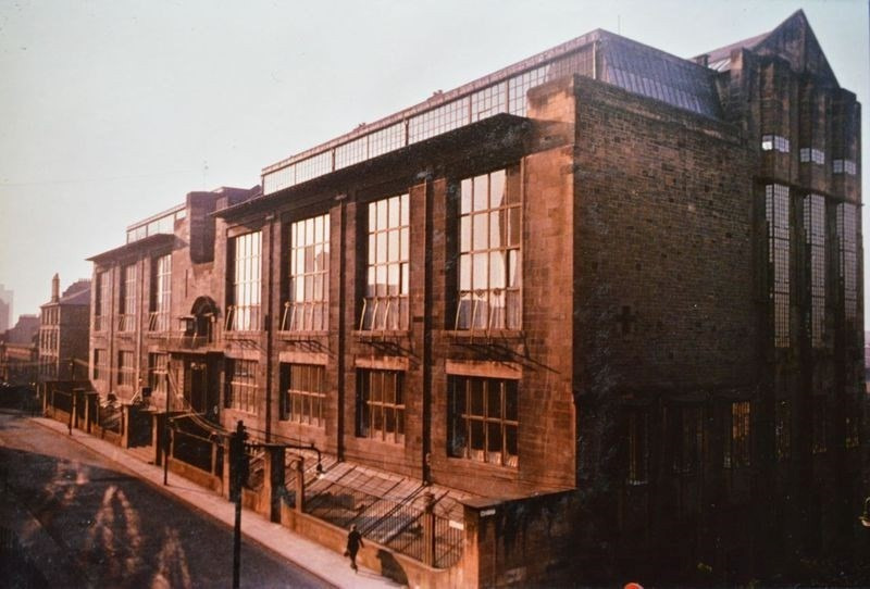 Glasgow School of Art from the Mac Photographic Archive