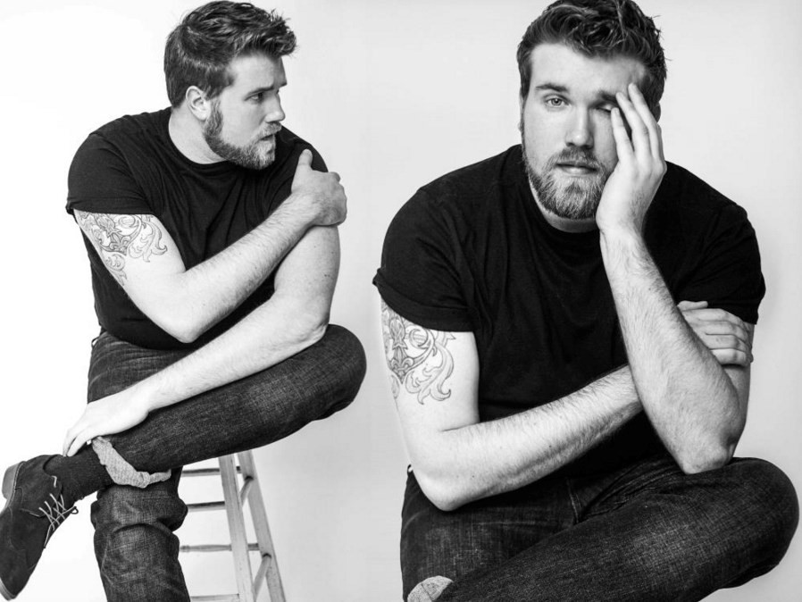 Zach Miko the first plus-size male model IMG