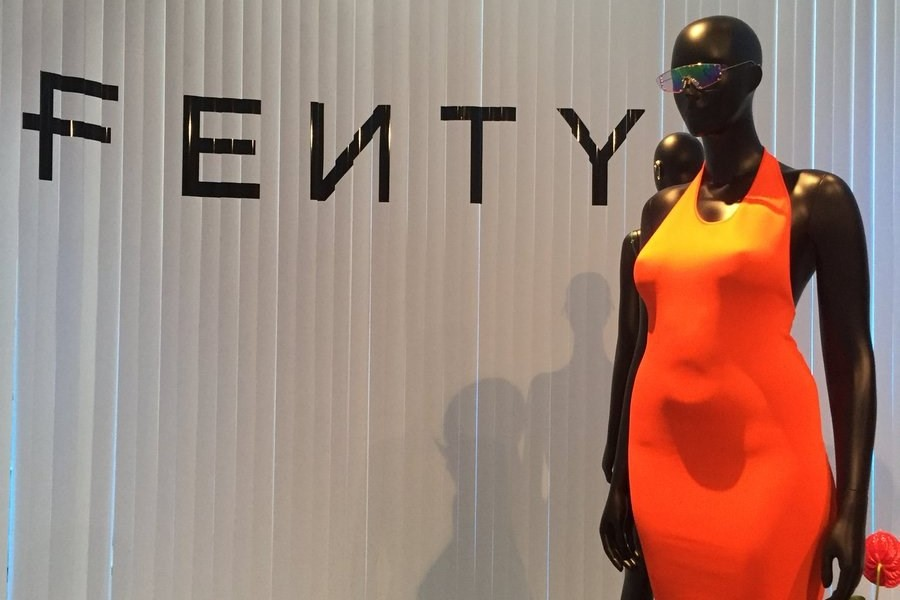 The internet is loving Rihanna's curvy Fenty mannequins
