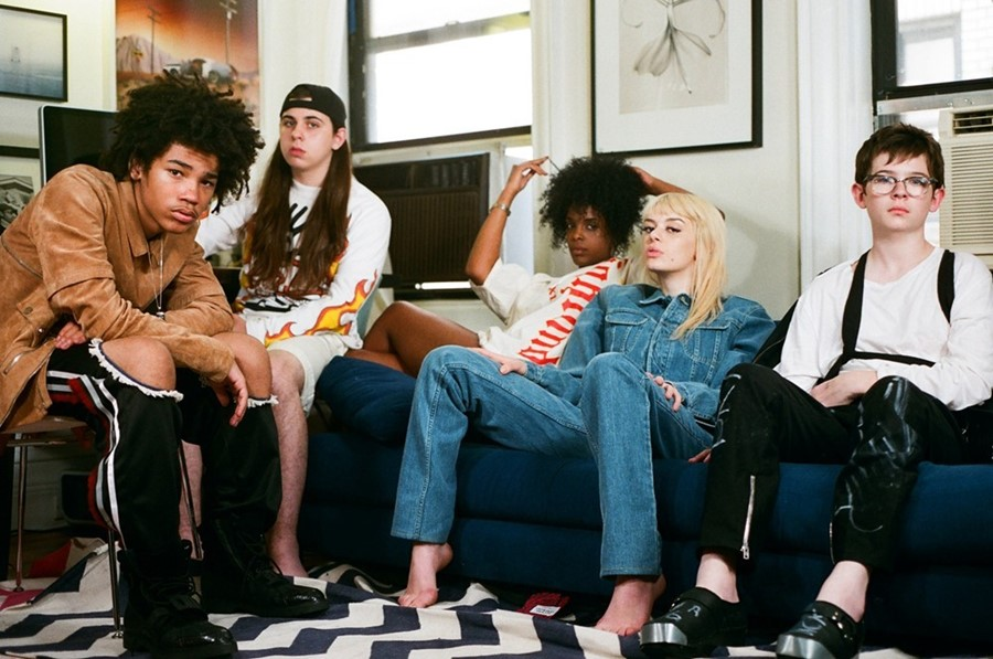 Luka, Asspizza, Rahel, Amy and Mike, Dazed takeover