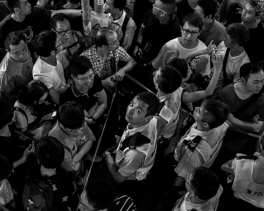 Hong Kong protests by Glenn Eugen Ellingsen