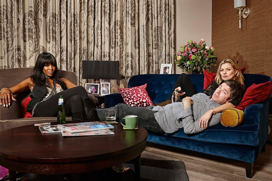 Kate Moss Naomi Campbell Gogglebox