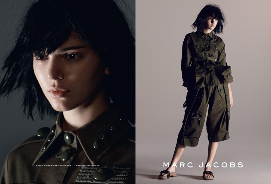 Kendall Jenner for Marc Jacobs SS15