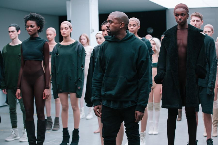 251459a2d Kanye debuts adidas NYFW collection plus a new song with Sia