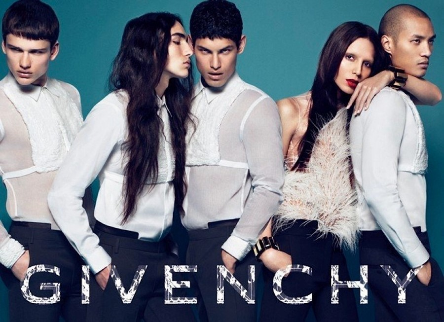 Lea T Givenchy autumn/winter 2010 campaign