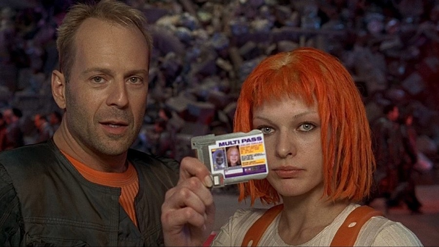 Fifth Element Mila Jovovich