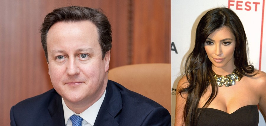 David Cameron says he's related to the Kardashians