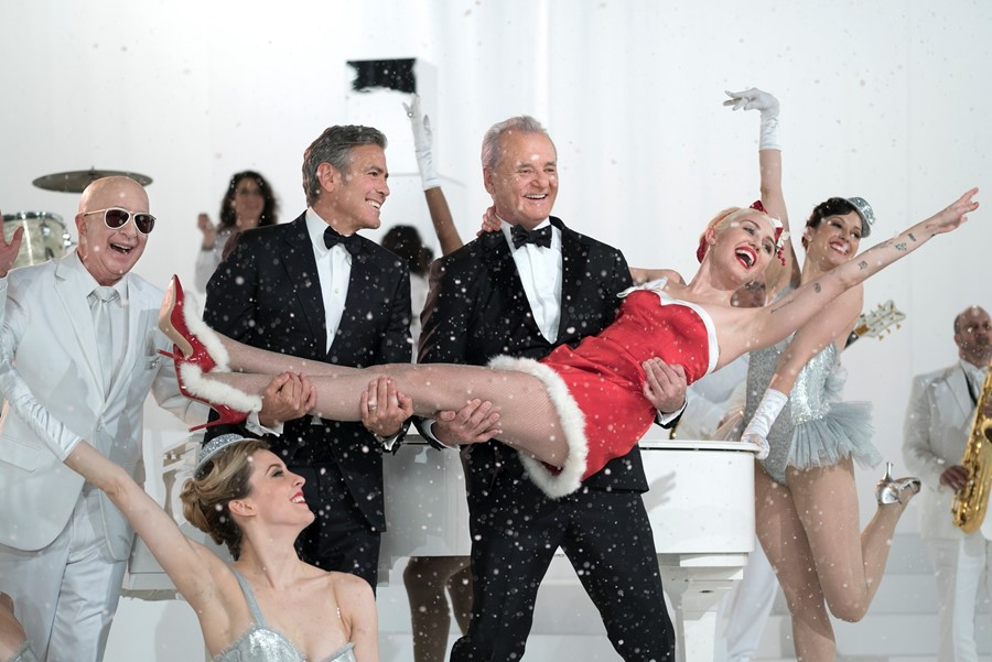 """Miley Cyrus in """"A Very Murray Christmas"""""""