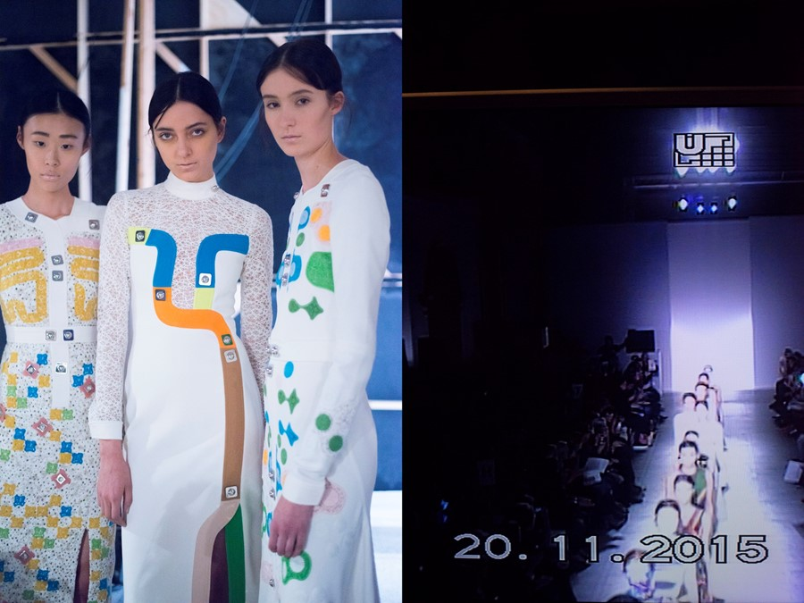 Peter Pilotto V&A Fashion in Motion 5
