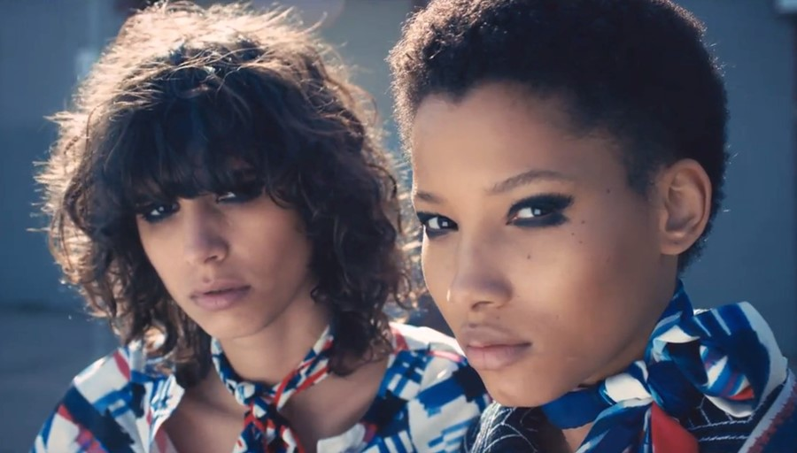 Mica Arganaraz and Lineisy Montero for Chanel SS16