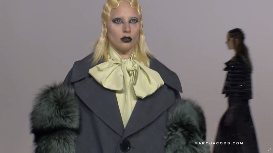 Lady Gaga at Marc Jacobs AW16