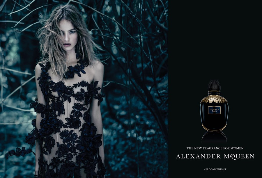 Photography Paolo Roversi McQueen Parfum campaign