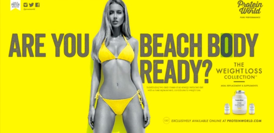 Protein World Body-shaming