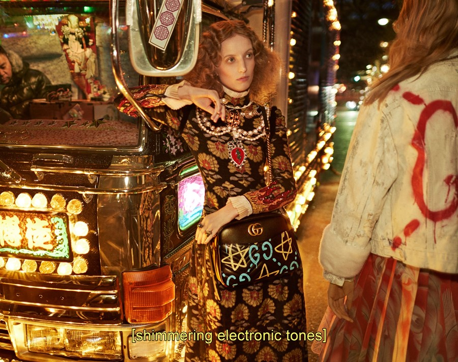 Petra Collins for Gucci AW16 autumn winter 2016 ad campaign