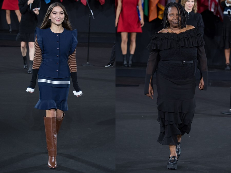 Rowan Blanchard and Whoopi Goldberg Opening Ceremony