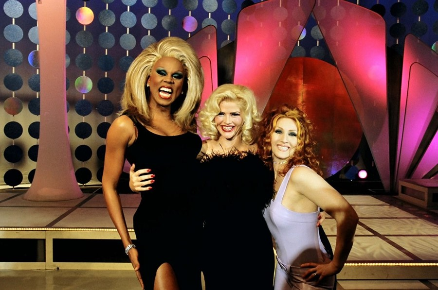 RuPaul and Anna Nicole Smith