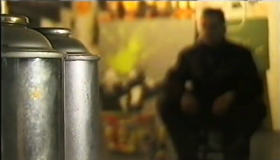 A 1995 video interview with Banksy may reveal his identity
