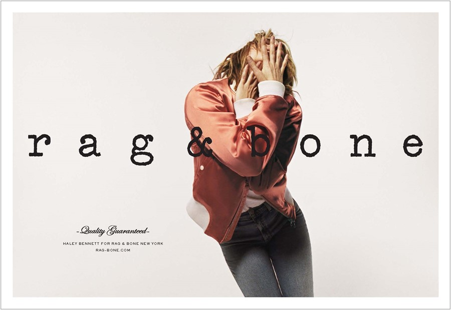 Rag & Bone SS17 Photo Project Haley Bennett Dazed