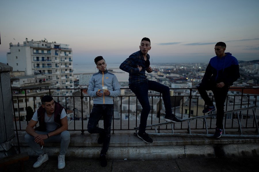 Capturing the modern masculinity of Algeria's youth