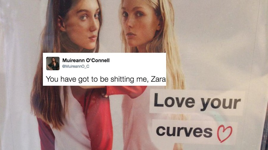 Zara love your curves campaign