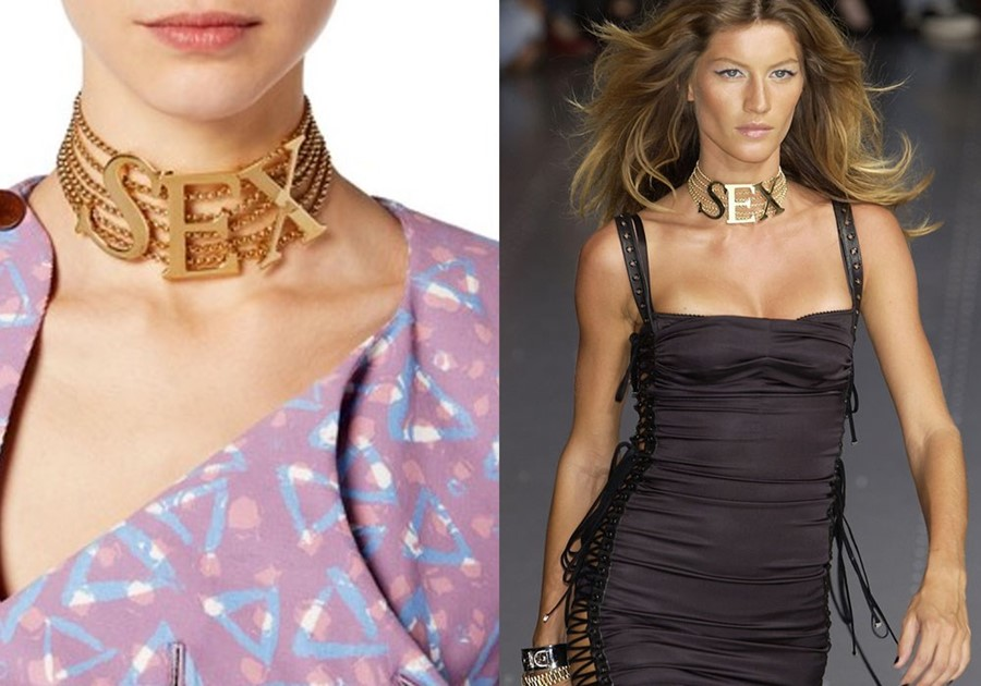 Vivienne Westwood Sex Necklace