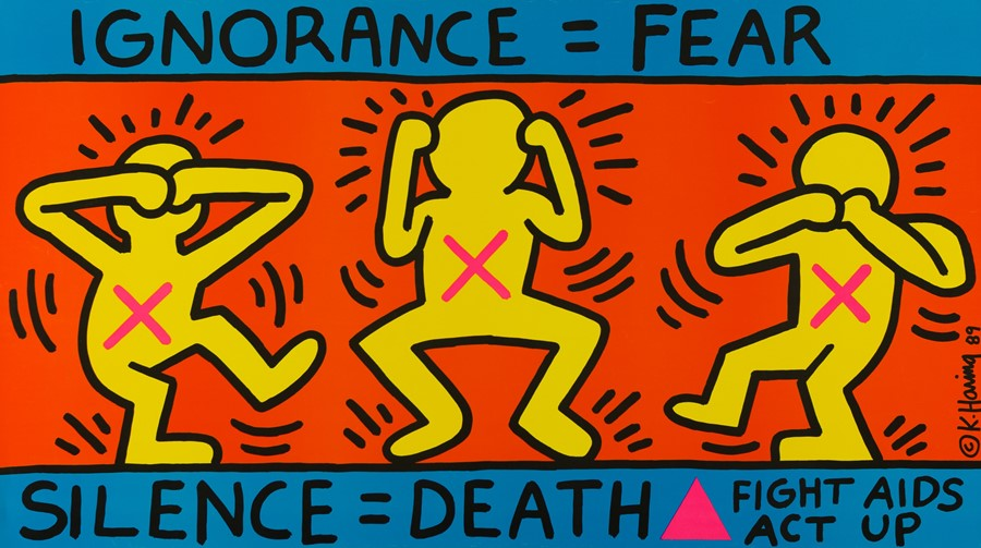 Important lessons Keith Haring taught us about life and art