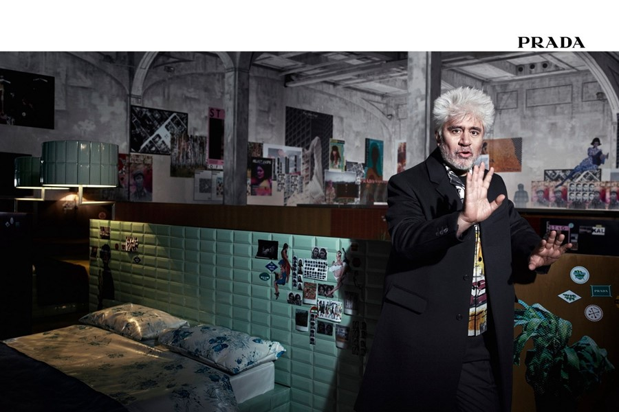 prada aw17 campaign pedro almodovar direction film fashion