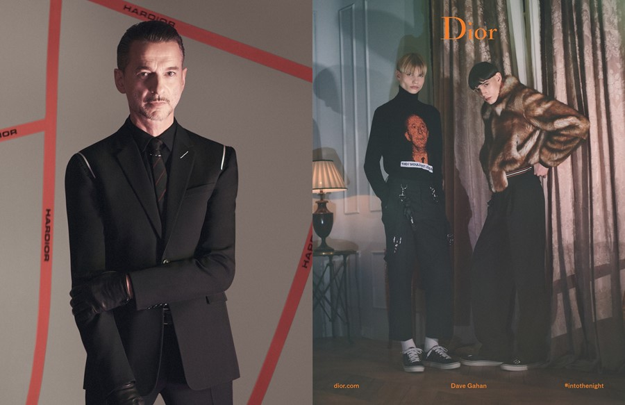 dior homme aw17 campaign depeche mode dave gahan