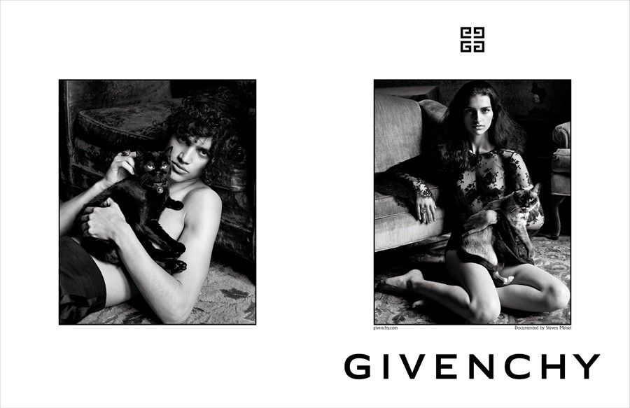 givenchy clare waight keller ss18 preview paris campaign