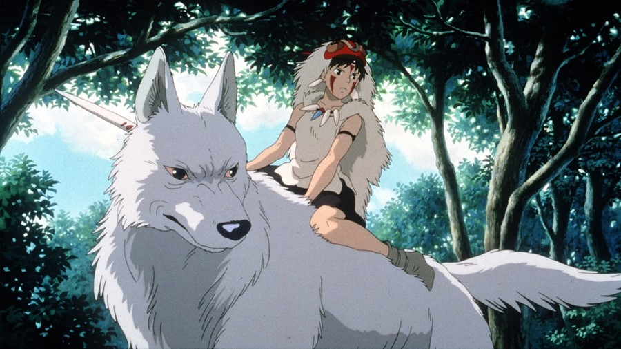 "Still from ""Princess Mononoke"" (1997)"