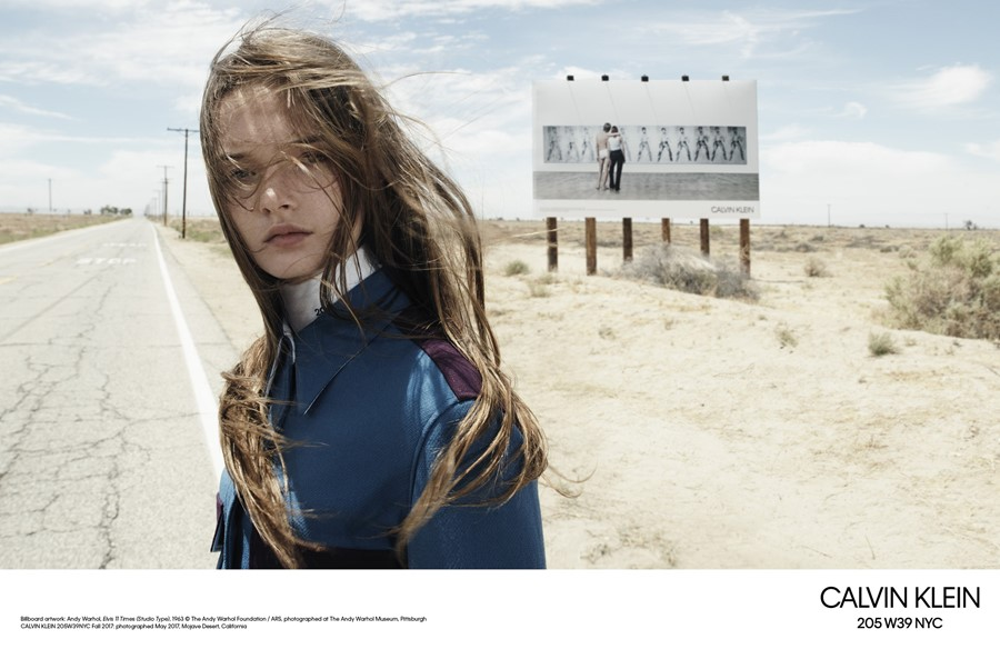 calvin klein aw17 campaign willy-vanderperre raf simons