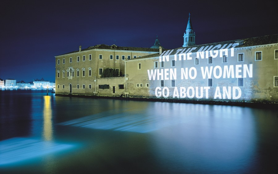 Jenny Holzer How to get the message across
