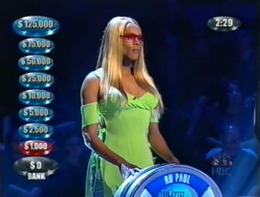 rupaul the weakest link tv gameshow