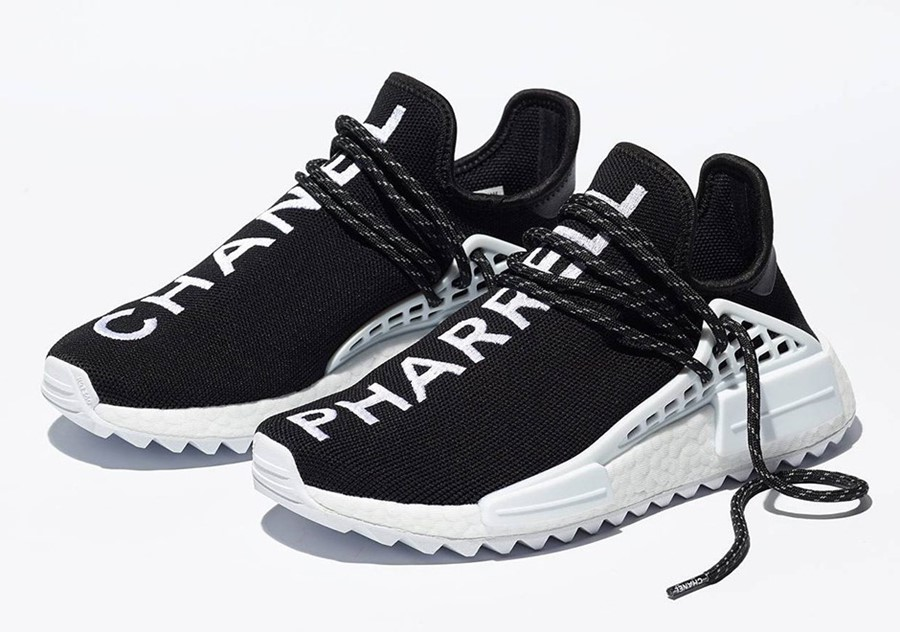 fe75b5377368 Want Pharrell s Chanel x adidas trainers  You ll need £30k