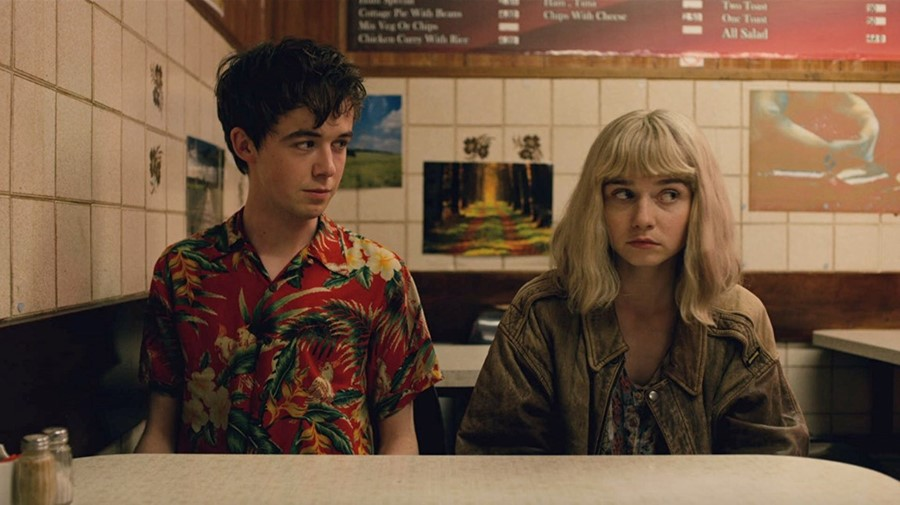 Alex Lawther & Jessica Barden, The End of the Fucking World