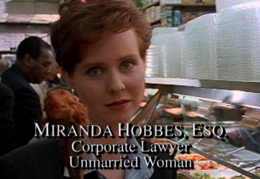 sex and the city miranda hobbes tv