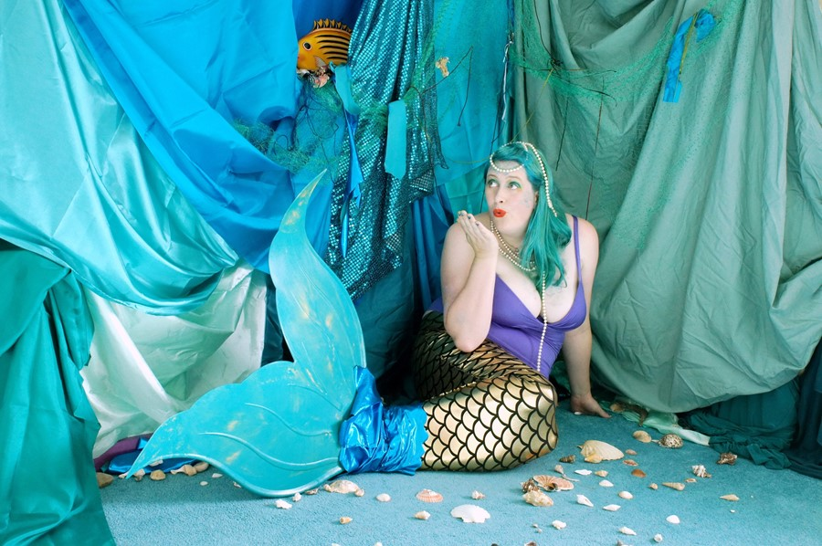 How people around the world find solace in becoming IRL mermaids