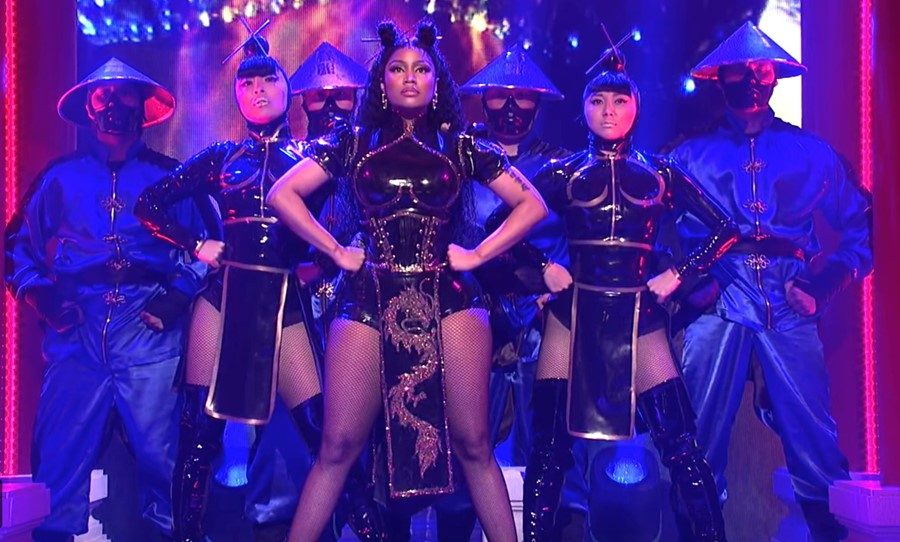 Nicki Minaj performs on 'Saturday Night Live' 19/05/2018