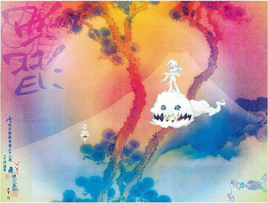 Kanye West Kid Cudi Kids See Ghosts album art