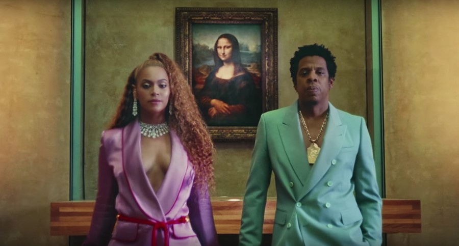 Beyonce Jay-Z Apes**t Video