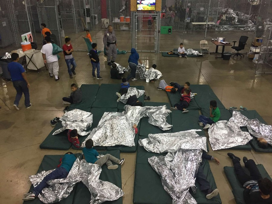 Homeland Security Children Camps