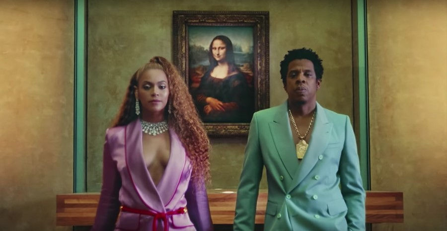 Beyoncé and Jay-Z in 'Apeshit' video