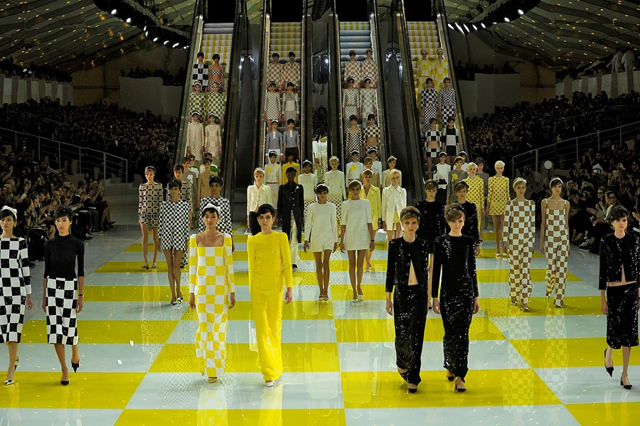 louis vuitton marc jacobs nicholas ghesquiere shows paris