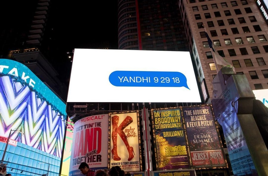 Kanye West has released more promotion for his new project, Yandhi