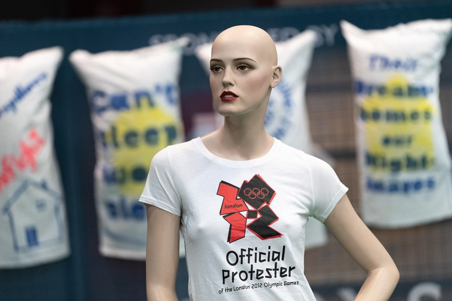 Official Olympics Protester